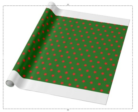Zazzle wrapping paper fail