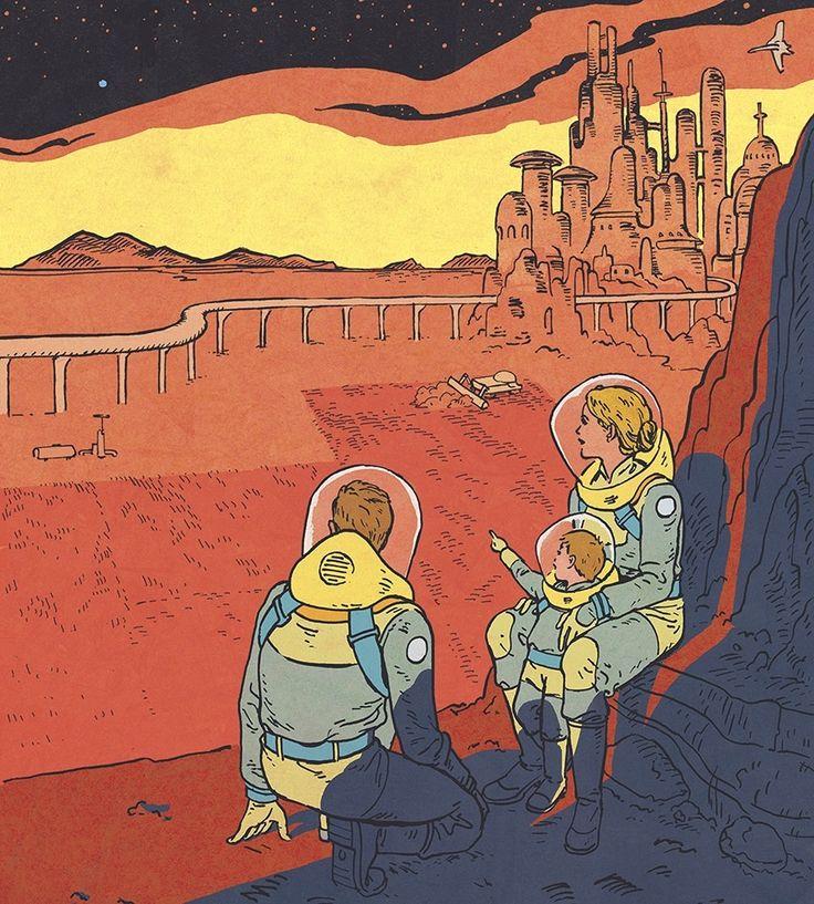 Martian Colonists art