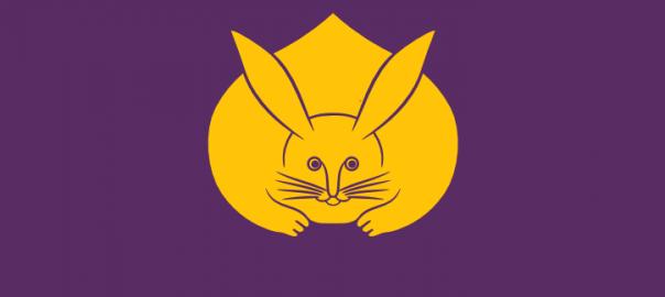 Cute kawaii bunny rabbit